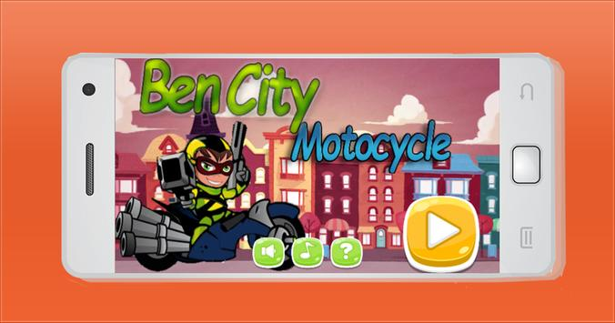 Ben City Motocycle poster