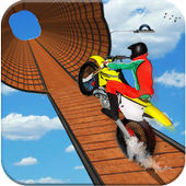 Impossible Bike Stunt Games 2018 3D: Tricky Tracks icon