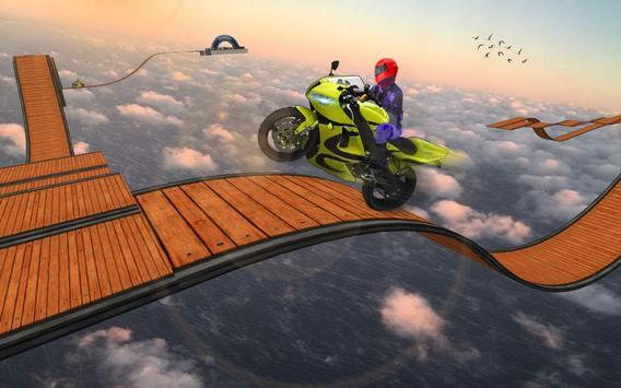 Impossible Bike Stunt Games 2018 3D: Tricky Tracks screenshot 3