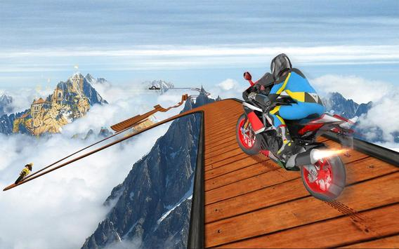 Impossible Bike Stunt Games 2018 3D: Tricky Tracks poster