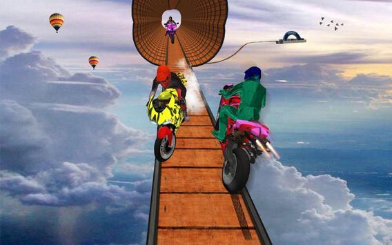 Impossible Bike Stunt Games 2018 3D: Tricky Tracks screenshot 21