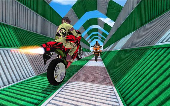 Impossible Bike Stunt Games 2018 3D: Tricky Tracks screenshot 7