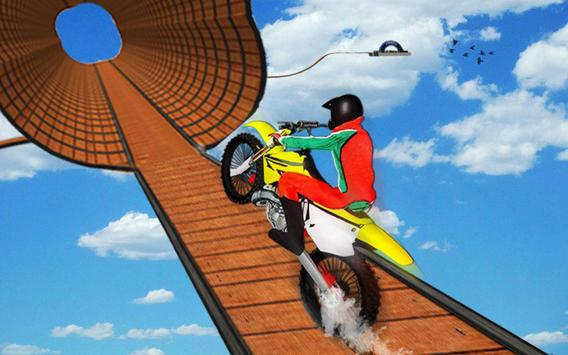 Impossible Bike Stunt Games 2018 3D: Tricky Tracks screenshot 6