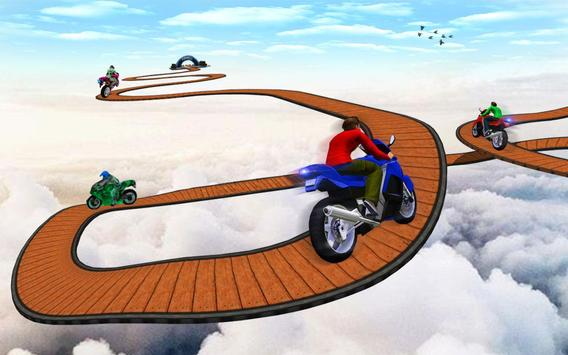 Impossible Bike Stunt Games 2018 3D: Tricky Tracks screenshot 9