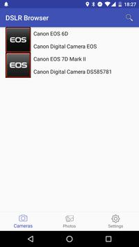 Canon DSLR Browser poster