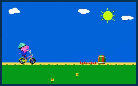 Bike Pepa Pig apk screenshot