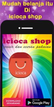ICIOCA SHOP poster
