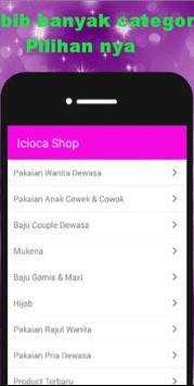 ICIOCA SHOP apk screenshot