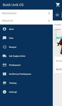 Butik Unik Online Shop apk screenshot