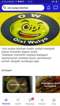 Oisi Wulyo catering screenshot 1