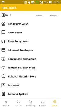 Makarim store screenshot 4
