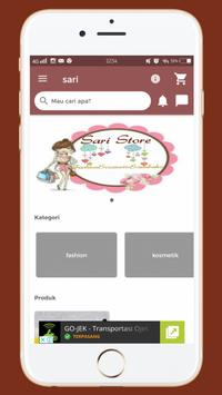 Sari Store screenshot 1