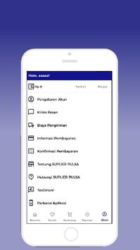 SUPLIER PULSA - ISI ULANG KUOTA INTERNET screenshot 1