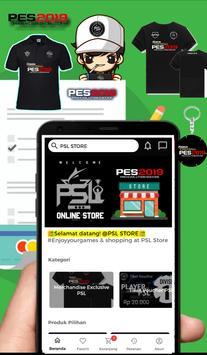 PES SUPER LEAGUE STORE (Toko Merchandise PES) poster