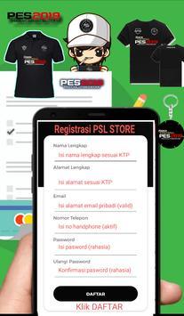 PES SUPER LEAGUE STORE (Toko Merchandise PES) screenshot 1