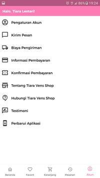 Tiara Vens Shop screenshot 2
