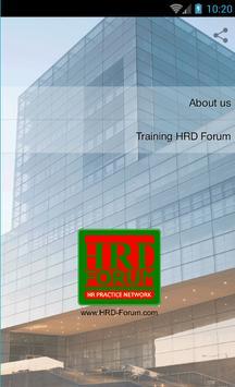 HRD Forum poster