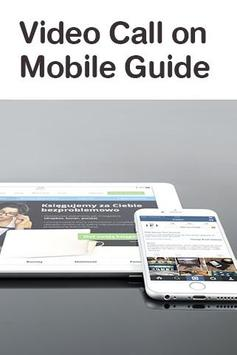 Video Call on Mobile Guide poster