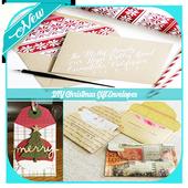 DIY Christmas Gift Envelopes icon