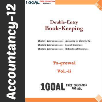 Class 12 Account (TS Grewal Vol-2) poster