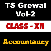 Account Class-12 Solutions (TS Grewal Vol-2) icon