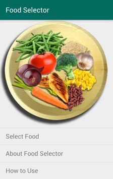 Food Selector poster