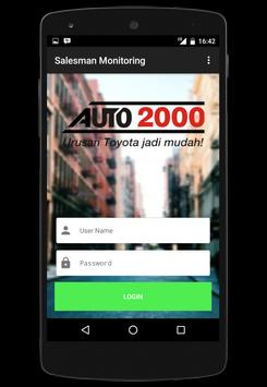 Auto2000 Sales Monitoring poster