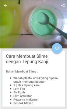 Cara Membuat Slime Sendiri apk screenshot