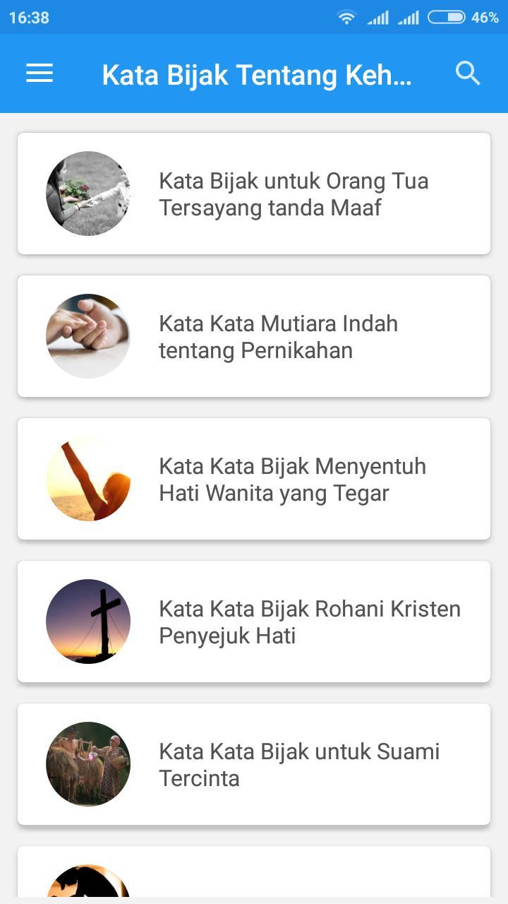 Kata Bijak Kehidupan Für Android Apk Herunterladen