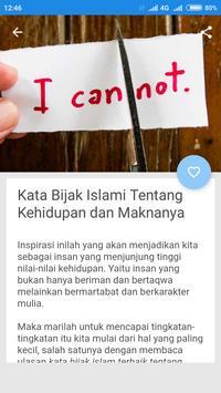 Motivasi IslamTentang Kehidupan screenshot 1