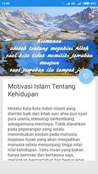 Motivasi IslamTentang Kehidupan apk screenshot