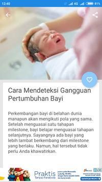 Pertumbuhan Bayi Setelah Lahir screenshot 1