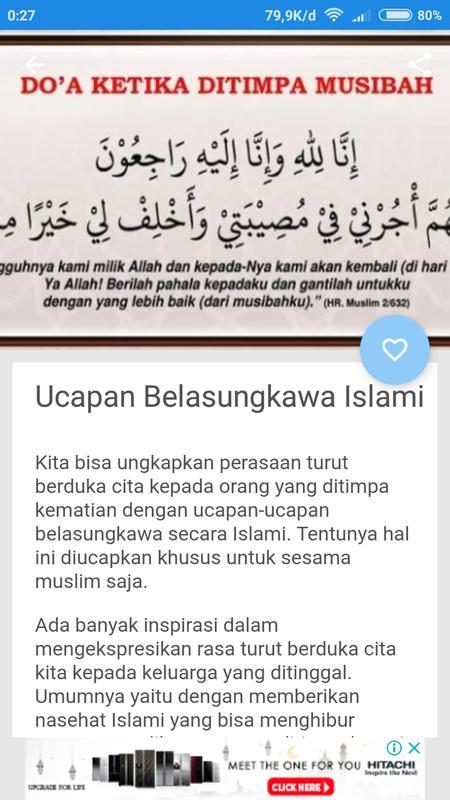Ucapan Belasungkawa Islam For Android Apk Download