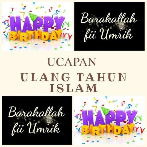 Ucapan Ulang Tahun Islami For Android Apk Download