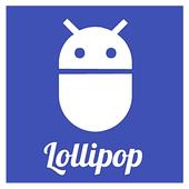 Lollipop 5.0 Zooper Widget icon