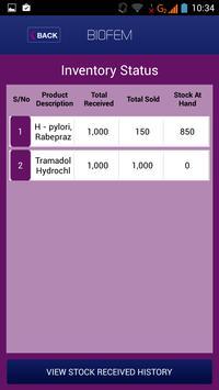 Biofem Transact screenshot 2