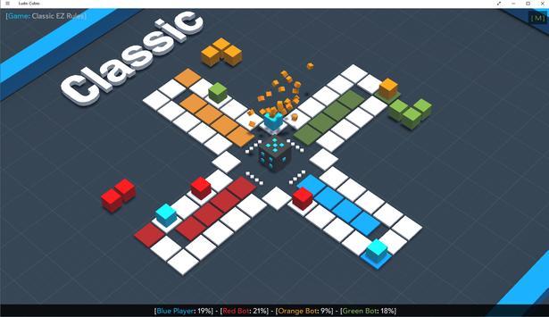 Ludo: Cubes screenshot 1