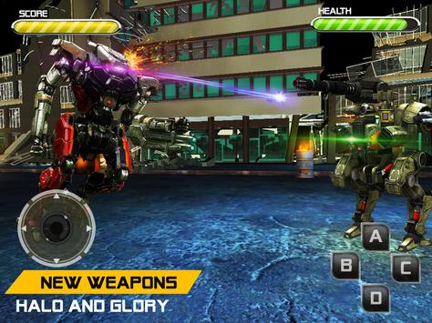 Battle Robot Fighting Games : Boxing War Machines screenshot 17