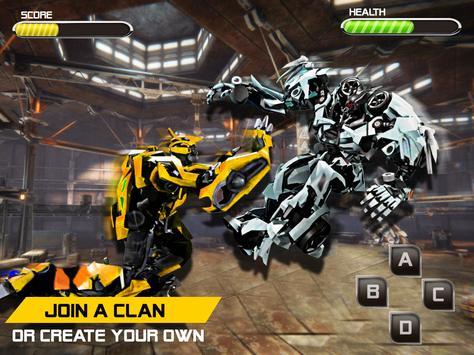 Battle Robot Fighting Games : Boxing War Machines screenshot 2
