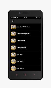 Azan MP3 Offline Complete apk screenshot
