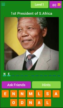 African Presidents Quiz poster