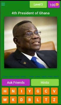 African Presidents Quiz apk screenshot