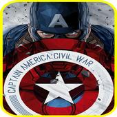 Captain america fanart wallpaper HD icon