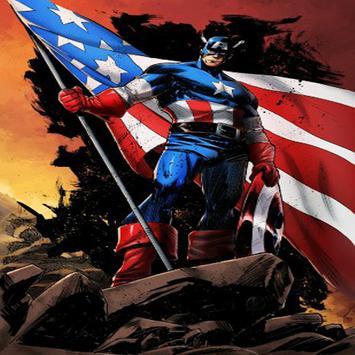 Captain america fanart wallpaper HD screenshot 10