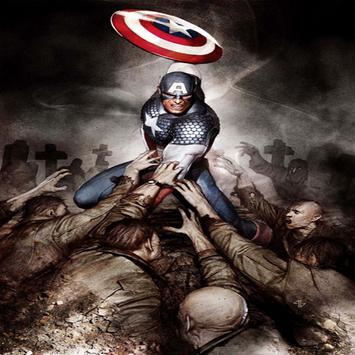Captain america fanart wallpaper HD screenshot 8