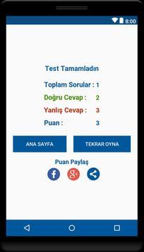 Bil-Kazan KPSS Soru Bankası apk screenshot