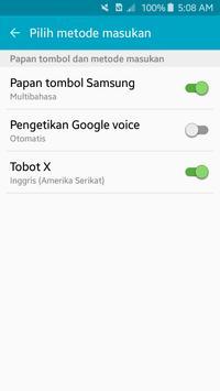 TOBOT XYZ keyboard screenshot 1