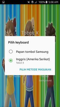 TOBOT XYZ keyboard screenshot 2
