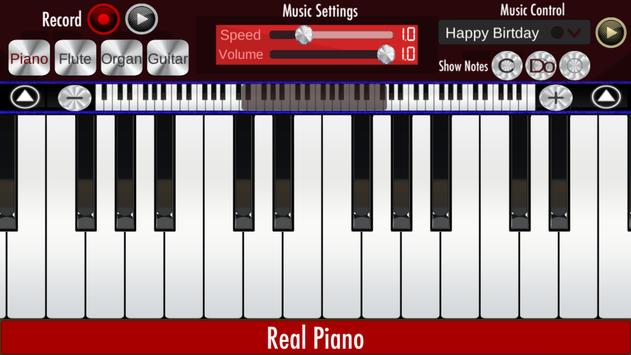 Real Piano apk स्क्रीनशॉट