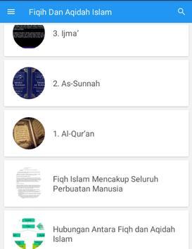Fiqih Dan Aqidah Islam screenshot 1